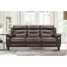 "See Details - Hayward 82"" Espresso Genuine Leather Power Reclining Sofa"