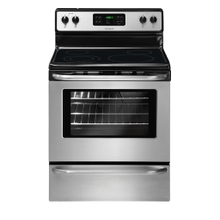 Frigidaire 30'' Freestanding Electric Range (This is a Stock Photo, actual unit (s) appearance may contain cosmetic blemishes. Please call store if you would like actual pictures). This unit carries our 6 month warranty, MANUFACTURER WARRANTY and REBATE NOT VALID with this item. ISI 40472