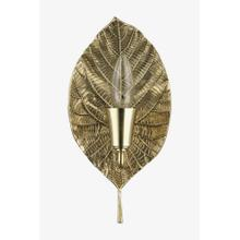 Deska Wall Mounted Sconce in Brass