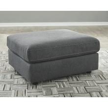 View Product - Candela Oversized Accent Ottoman Charcoal