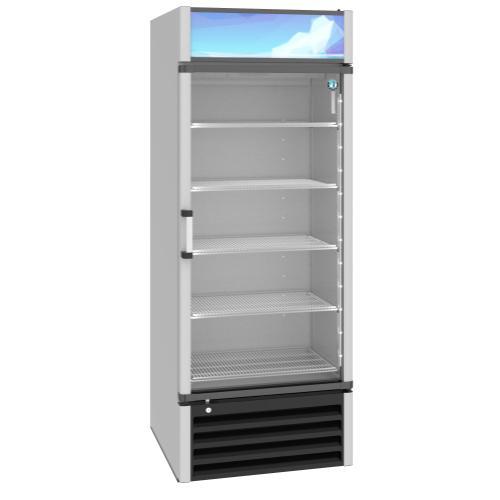 RM-26-HC, Refrigerator, Single Section Glass Door Merchandiser