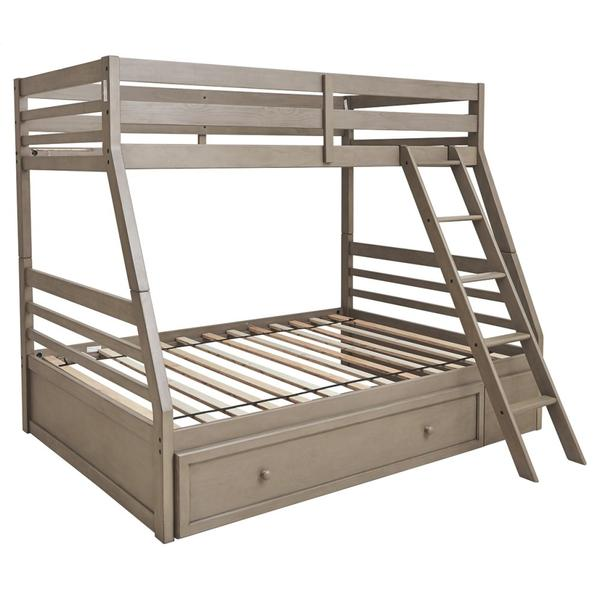Lettner Twin Over Full Bunk Bed With 1 Large Storage Drawer