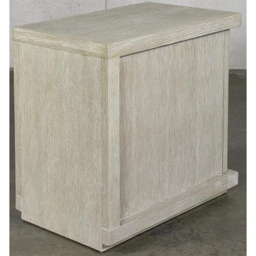 Cascade - Chairside Table - Dovetail Finish