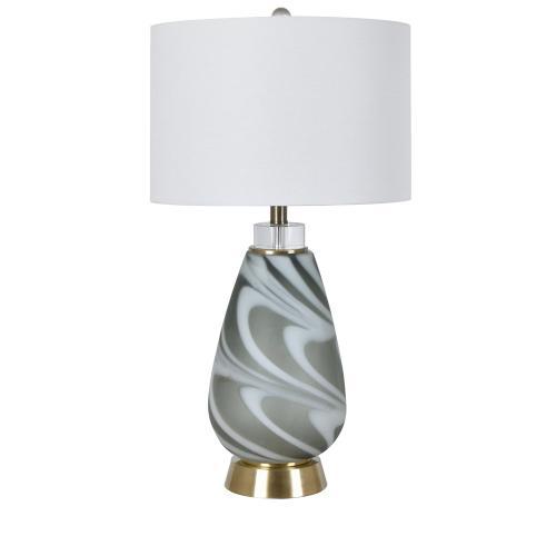 Brennan Swirled Table Lamp