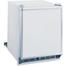 White 220V, Field reversible Marine/RV Low Profile Crescent Ice Maker