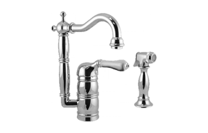 Canterbury Prep Faucet w/ Side Spray Product Image