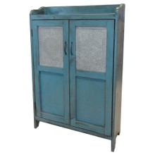 See Details - Punched Tin Cupboard