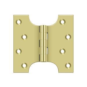 "Deltana - 4"" x 4"" Hinge - Polished Brass"