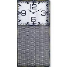 See Details - Hibberson Rectangular Large Industrial Wall Clock