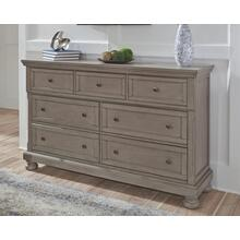 Lettner Dresser Light Gray