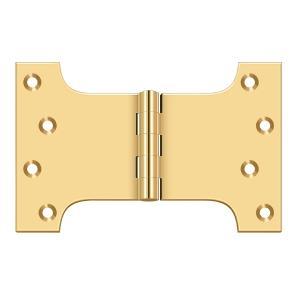 "Deltana - 4"" x 6"" Hinge - PVD Polished Brass"