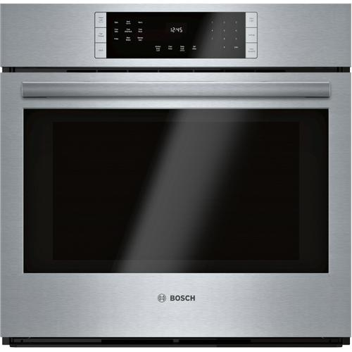 Bosch Canada - 800 Series Single Wall Oven 30'' Stainless steel HBL8453UC