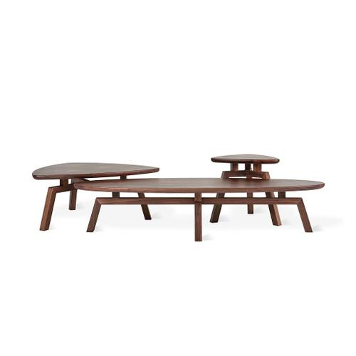 Solana Oval Coffee Table New Walnut