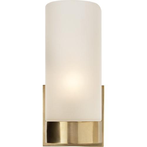 Visual Comfort BBL2090SB-FG Barbara Barry Urbane 1 Light 4 inch Soft Brass Decorative Wall Light