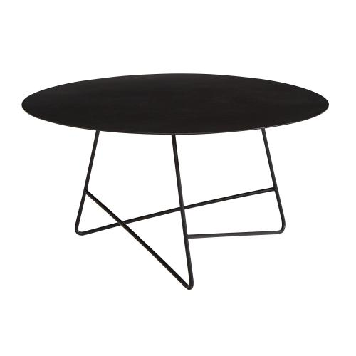 TABLE,ROUND COFFEE - CARBON
