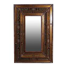 Emily Mirror Small with Painted Glass