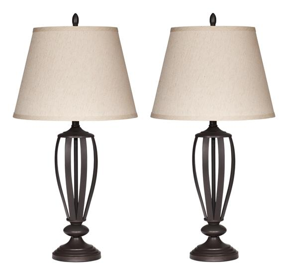 See Details - Mildred Table Lamp (set of 2)