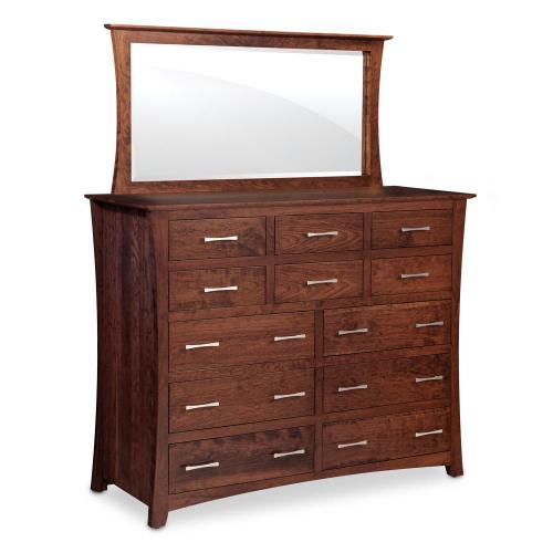Simply Amish - Loft 12-Drawer Bureau - QuickShip