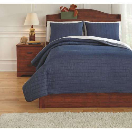 Capella 3-piece Full Quilt Set