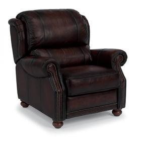 Dickenson Leather High-Leg Recliner