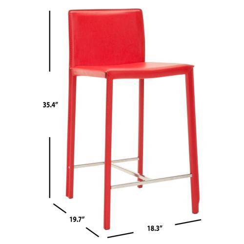 "Jason 24 "" Counter Stool - Red"