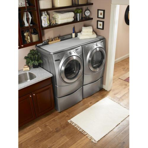 "15.5"" Laundry Pedestal with Storage Drawer"