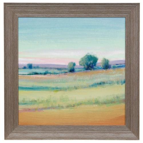 Style Craft - VIVID LANDSCAPE VI  29in w X 29in ht  Made in USA  Textured Framed Print