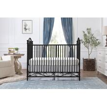 See Details - Vintage Iron Camellia 3-in-1 Convertible Crib
