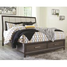 See Details - Brueban Queen Panel Bed With 2 Storage Drawers