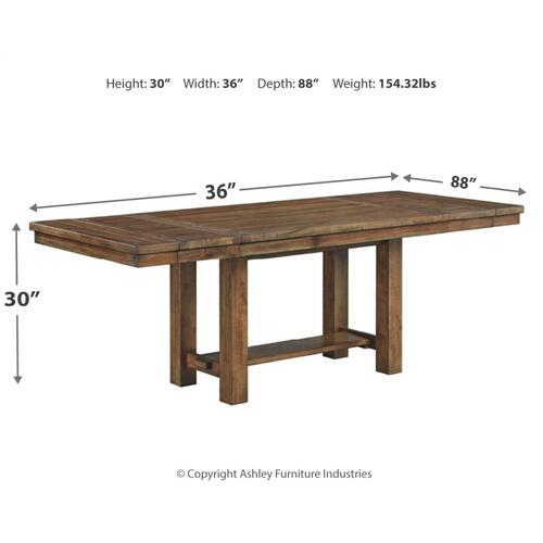 Moriville Dining Room Extension Table