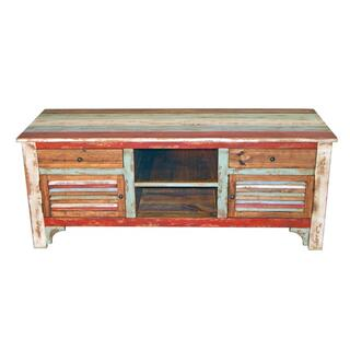 Multi Color Louvered TV Stan