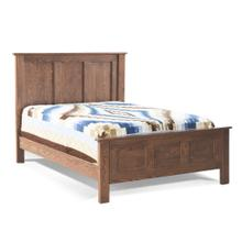 View Product - Franklin Oak Panel Bed