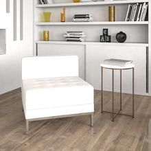 See Details - HERCULES Imagination Series Contemporary Melrose White LeatherSoft Middle Chair
