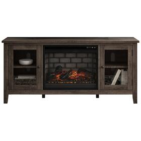 """See Details - Arlenbry 60"""" TV Stand With Electric Fireplace"""