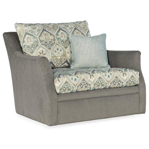 Living Room Bree Chair and Half Swivel