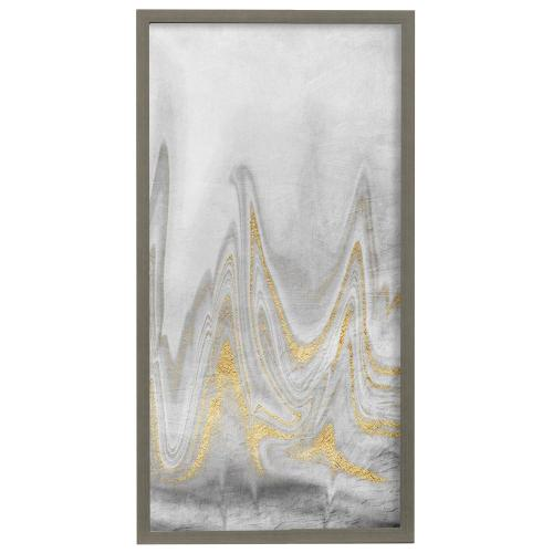 Style Craft - Distant Reality  22in X 42in Promotional Framed Print Under Glass  Ready to Hang