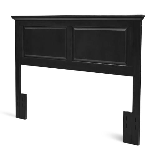 Twin Cottage Style Headboard in Ebony Finish