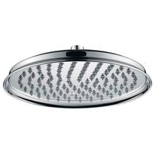 """See Details - 8"""" Traditional Round Rain Head with Air-Injected Ball Joint for Shower Head - Brushed Nickel"""