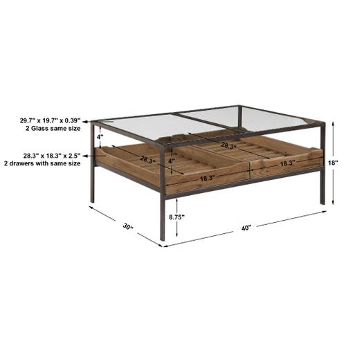 Product Image - Silas Coffee Table, 2 Cartons