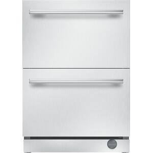 Thermador24-Inch Under-Counter Double Drawer Refrigerator/Freezer