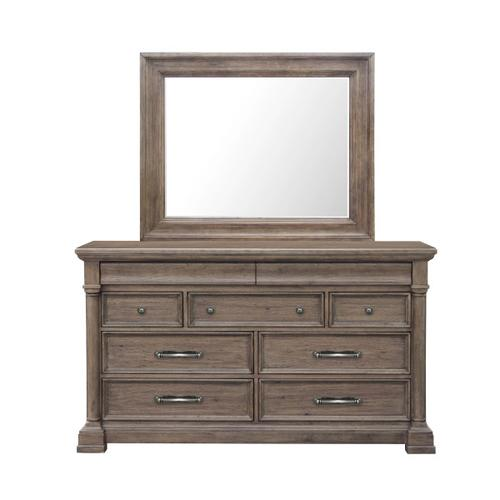 Crestmont Dresser in Brown
