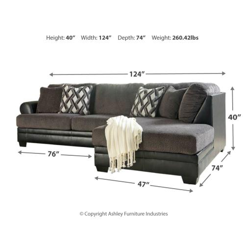 2-piece Sectional With Chair