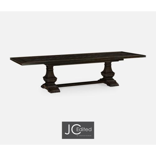 """86"""" Extending Dining Table in Dark Ale"""