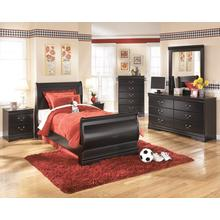 B128 Twin Sleigh Bed Set