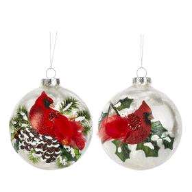 Cardinal Ornaments (6 pc. ppk.)