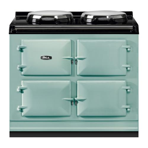 "AGA Total Control 39"" Electric Pistachio with Stainless Steel trim"