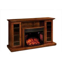 "Ember 64"" Fireplace Media Cabinet"