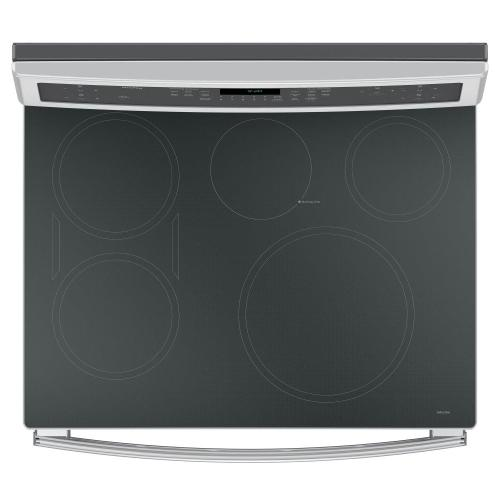 """CLOSEOUT GE Profile™ 30"""" Smart Free-Standing Convection Range with Induction"""