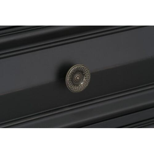 Passages 5-Drawer Chest, Vintage Black