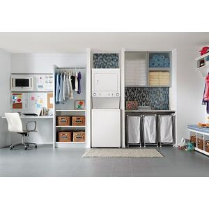 Gallery - Electric Washer/Dryer High Efficiency Laundry Center